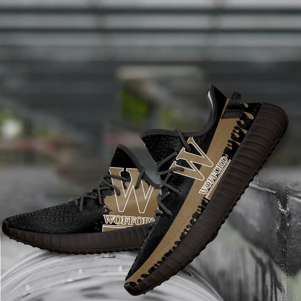 Wofford Monogram Ncaa Yeezy Sneakers Shoes
