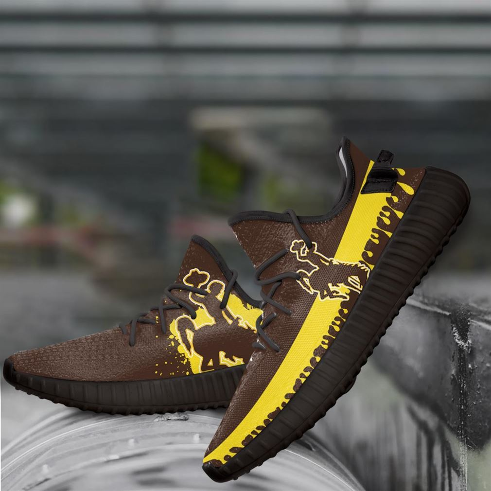 Wyoming Cowboys Ncaa Yeezy Sneakers Shoes