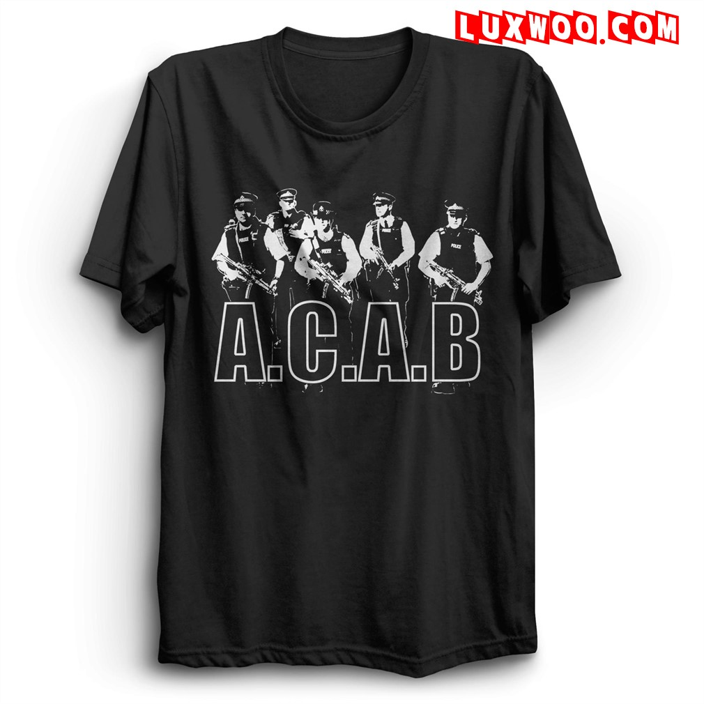 Acab T Shirts All Cops Are Bastards Acab Size Up To 5xl