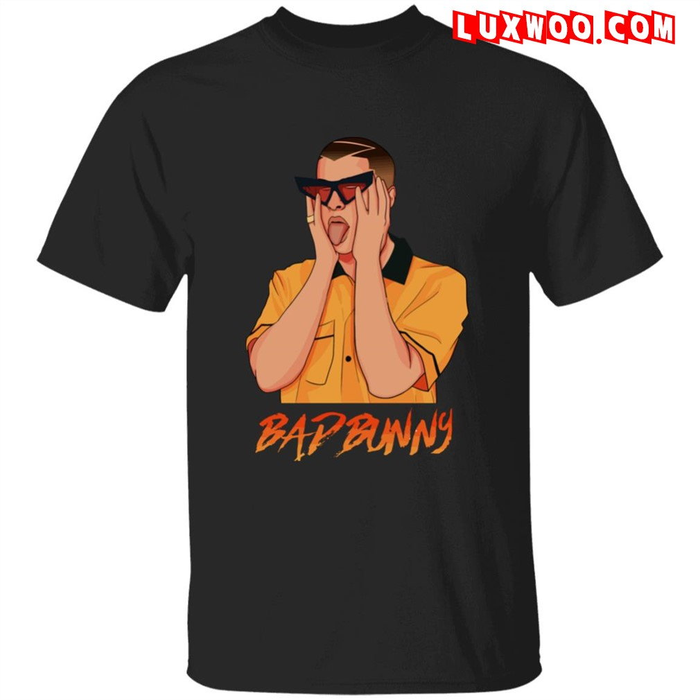 Bad Bunny T-shirt Merch Plus Size Up To 5xl