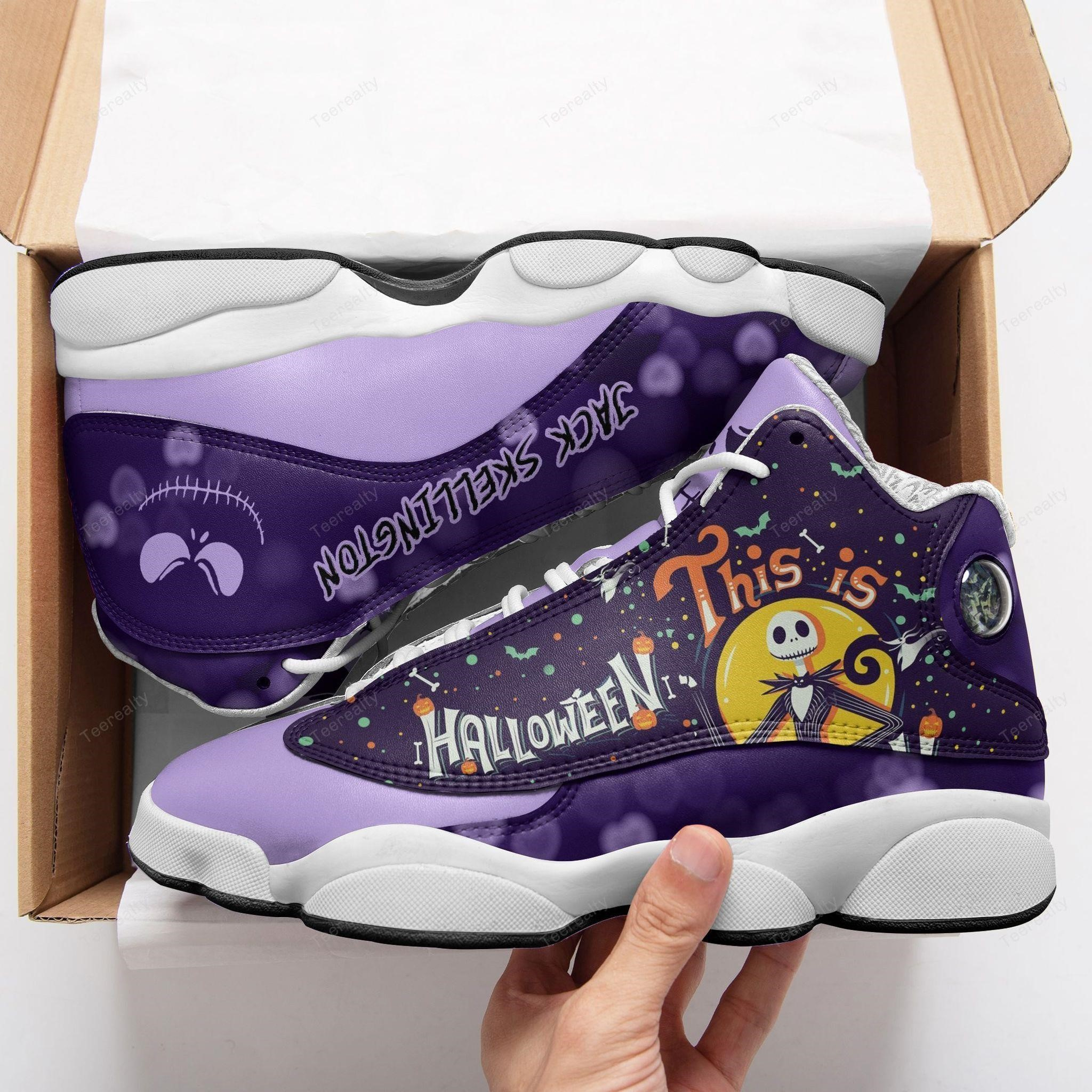 Jack Skellington Halloween Ajd13 Sneakers Shoes