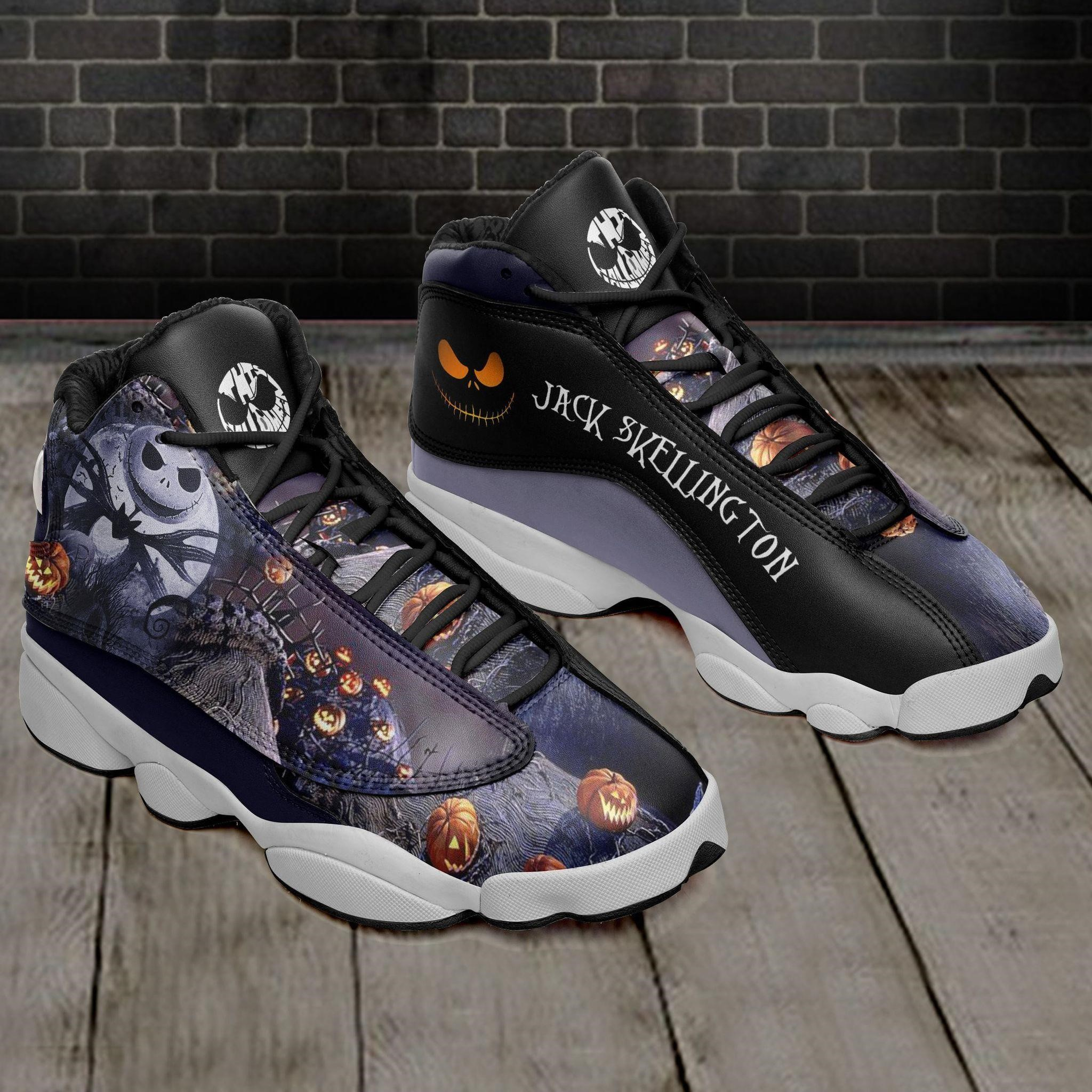 Jack Skellington Halloween Ajd13 Sneakers