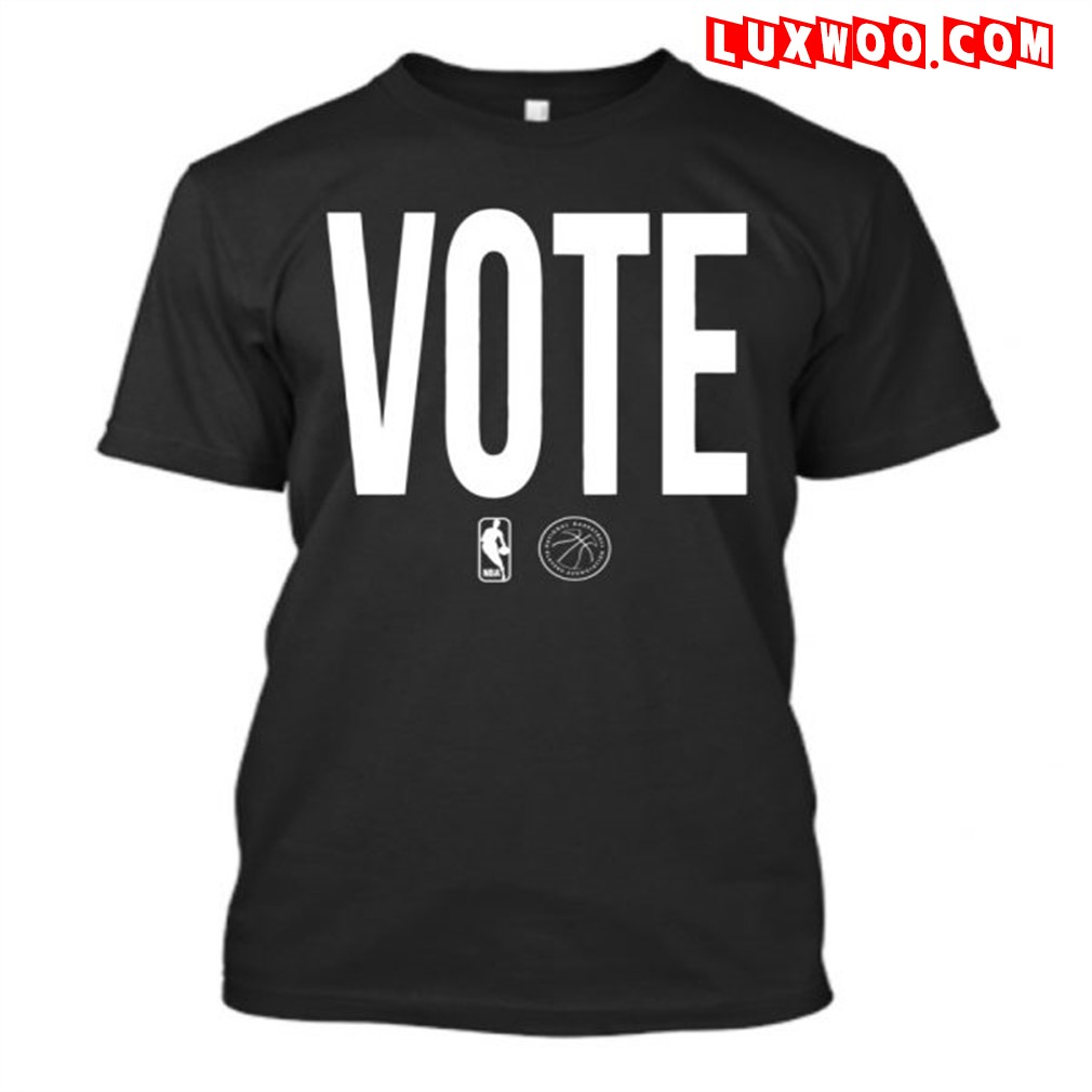 Nba Vote Shirt 2020 Plus Size Up To 5xl