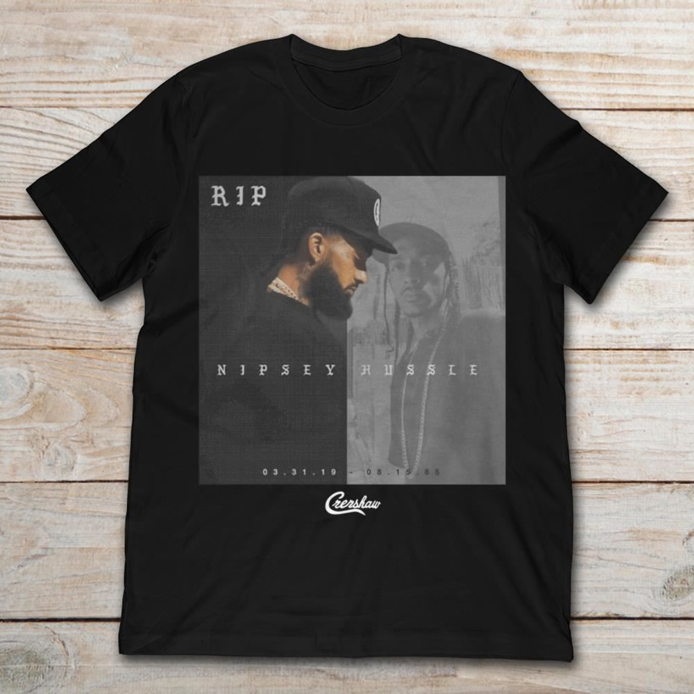 Rip Nipsey Hussle 1985-2019 Plus Size Up To 5xl