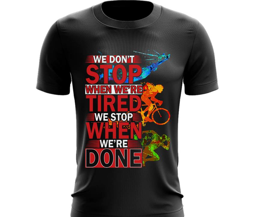 Triathlon T Shirt V6