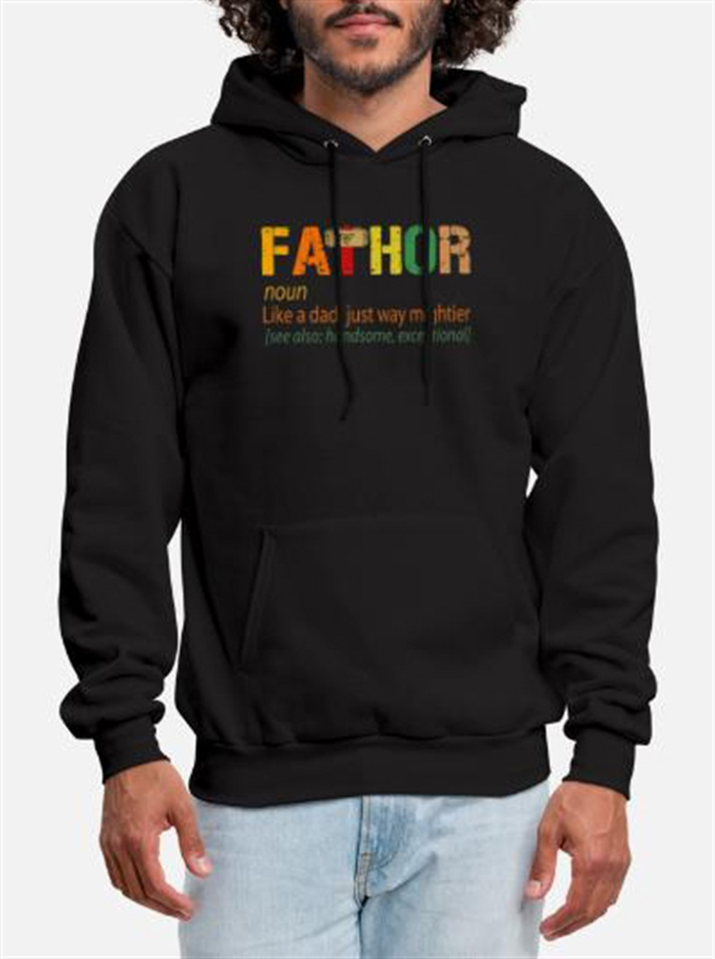 Fathor Like Dad Just Way Mightier Hoodie