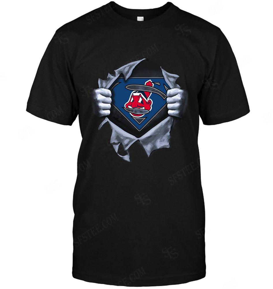 Mlb Cleveland Indians Superman Logo Dc Marvel Jersey Superhero Avenger