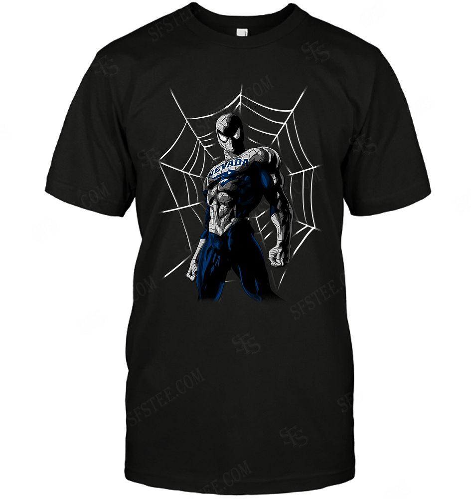 Ncaa Nevada Wolf Pack Spider Man Dc Marvel Jersey Superhero Avenger Shirt