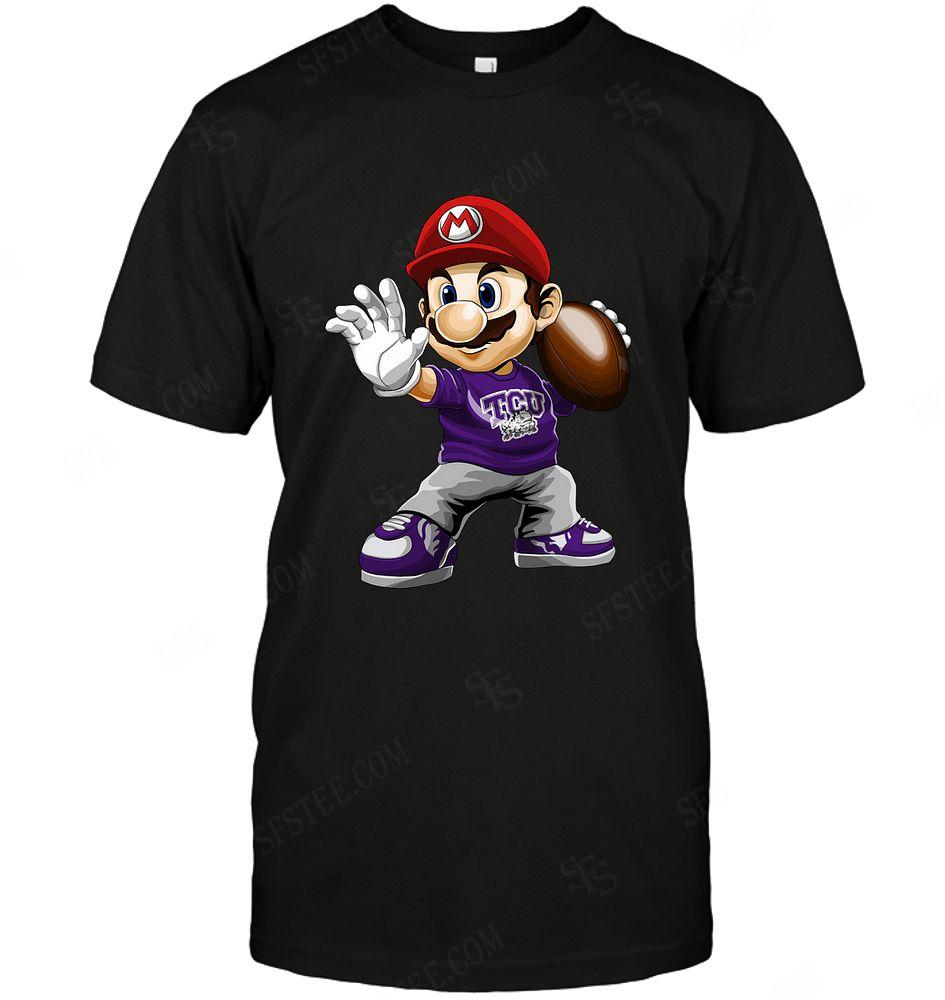Ncaa Tcu Horned Frogs Mario Nintendo