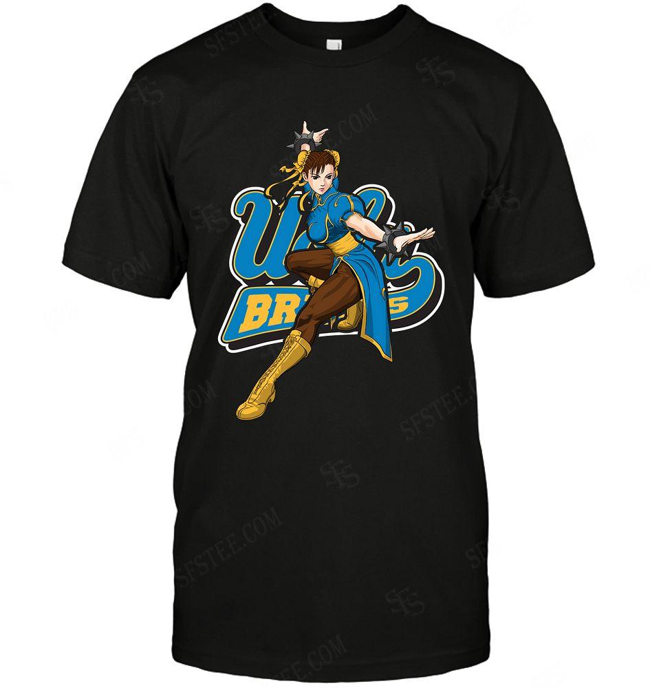 Ncaa Ucla Bruins Chun Li Nintendo Street Fighter Shirt