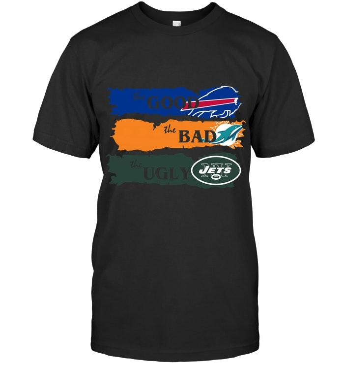 Nfl Buffalo Bills The Good The Bad The Ugly Fan T Shirt Sweater Size Up To 5xl