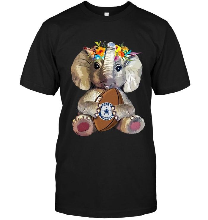 Nfl Dallas Cowboys Elephant Loves Dallas Cowboys Shirt Shirt Size Up To 5xl