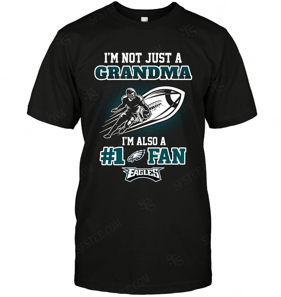 Nfl Philadelphia Eagles Not Just Grandma Also A Fan Hoodie Size Up To 5xl