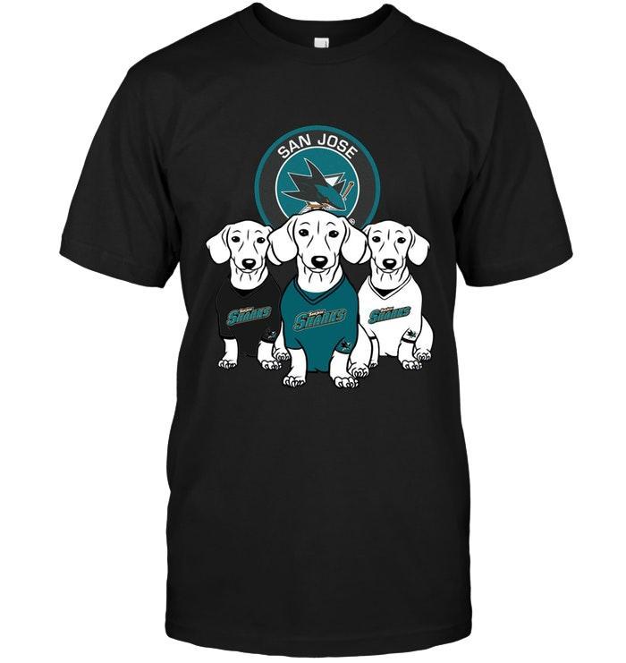 Nhl San Jose Sharks Dachshund San Jose Sharks Shirt Tshirt Size Up To 5xl