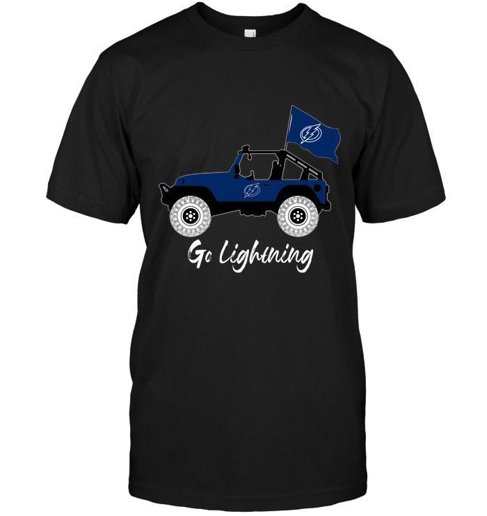 Nhl Tampa Bay Lightning Go Tampa Bay Lightning Jeep Shirt Long Sleeve Size Up To 5xl