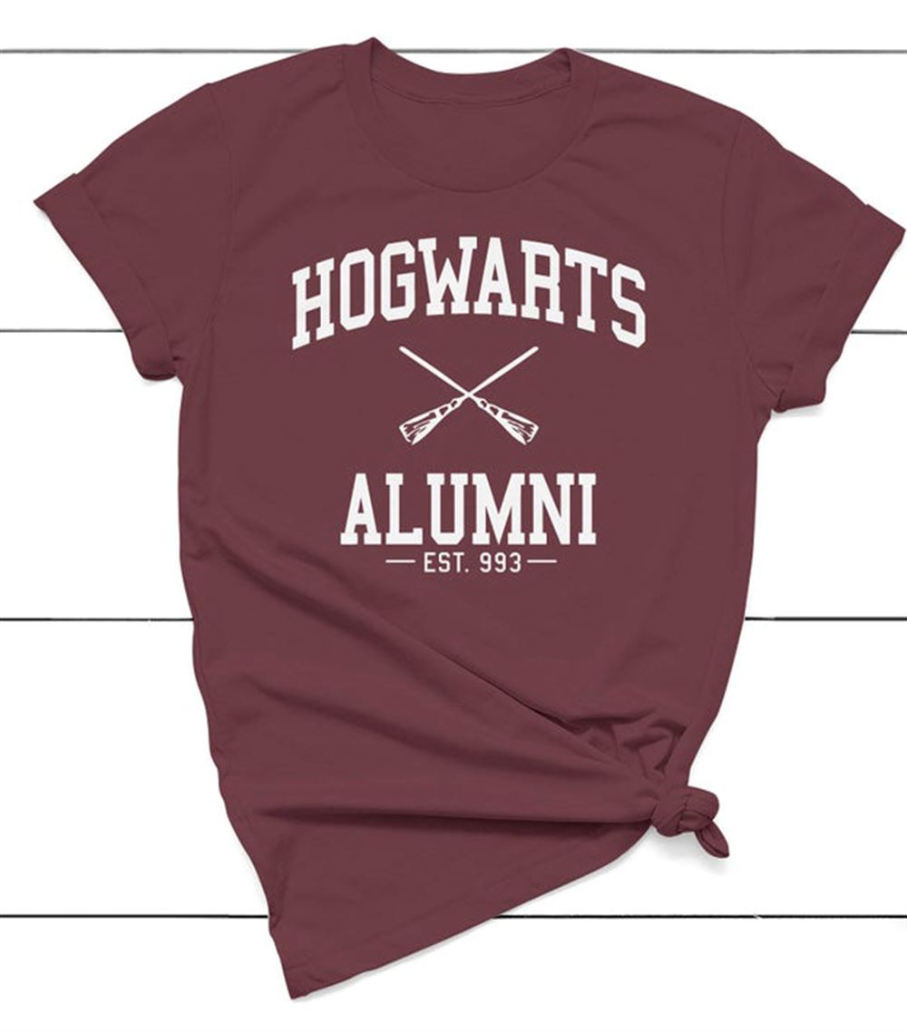 Harry Potter T-shirt Hogwarts Alumni Hogwarts Shirt Harry Potter Inspired Graphic Sweater Unisex Sweatshirt
