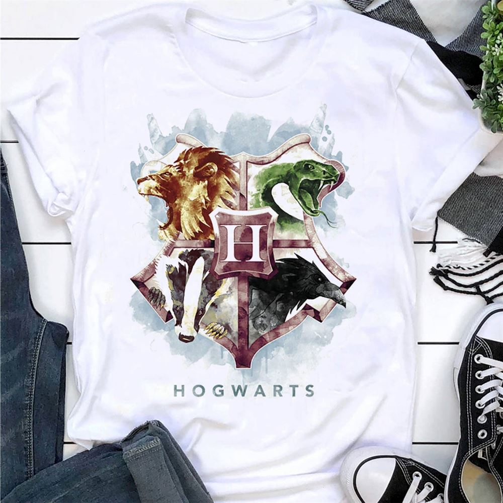 Hogwarts Mystic Shirtharry Potter Shirtgift For Harry Potter Fan Trending Unisex Hoodies Sweatshirt Long Sleeve V Neck Kid T Shirt