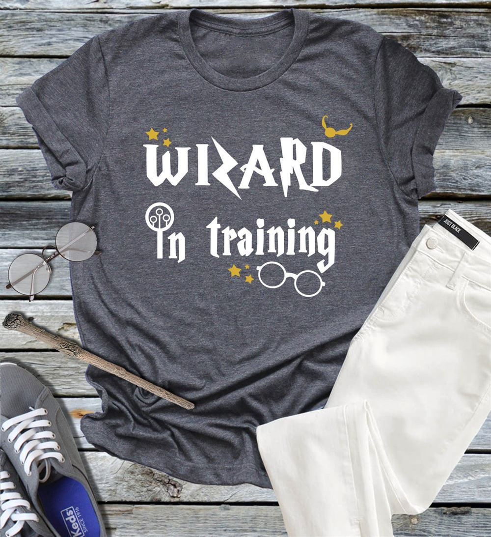 Wizard In Training Shirt Or Baby Bodysuit Magic Universal Shirts Vacation Shirt Trip Party Tee For Boy Or Girl Potter Birthday Gift Shower