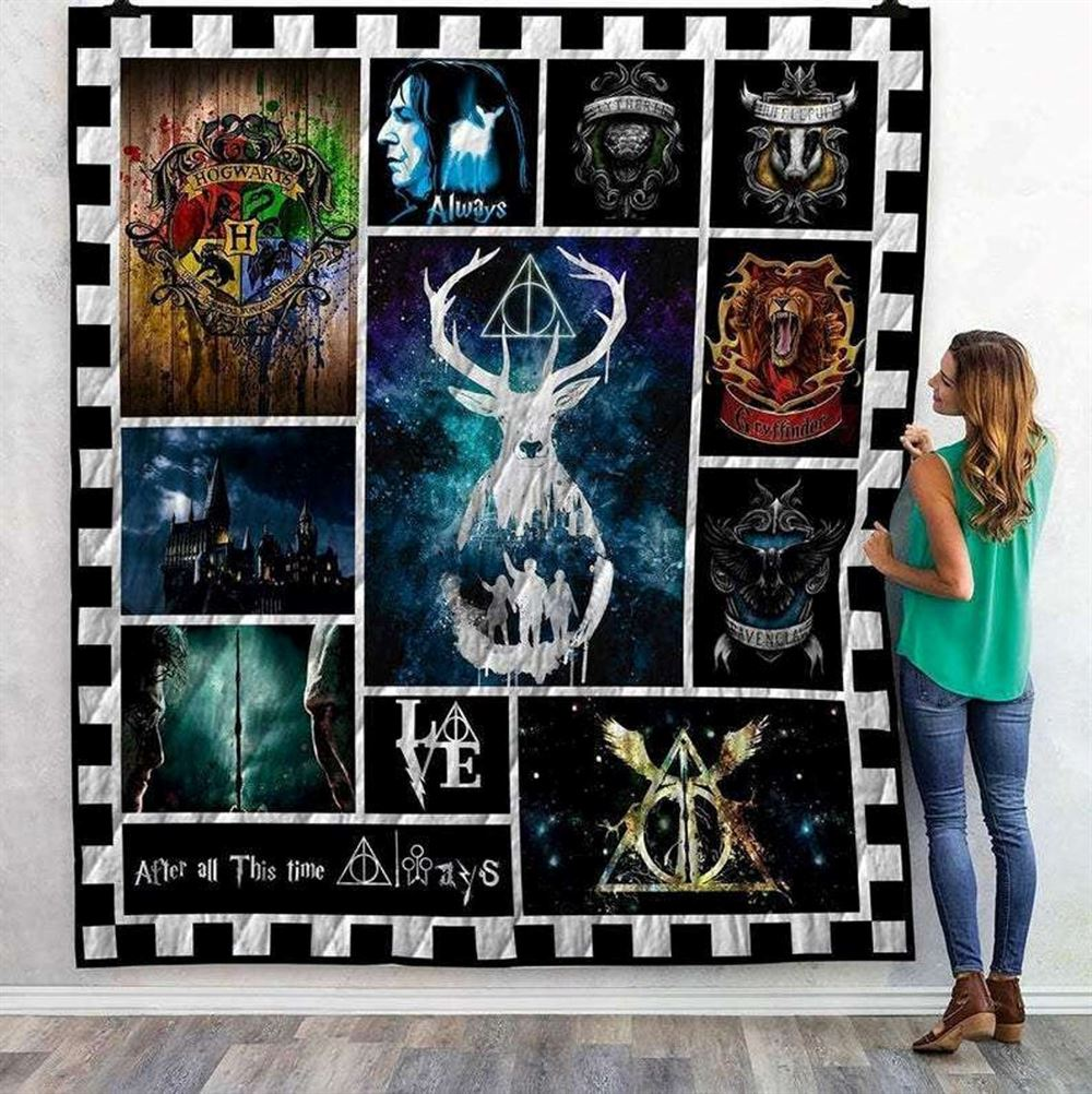 Harry Potter Quilt Blanket Gift For Mother Happy Mothers Daydecor Home
