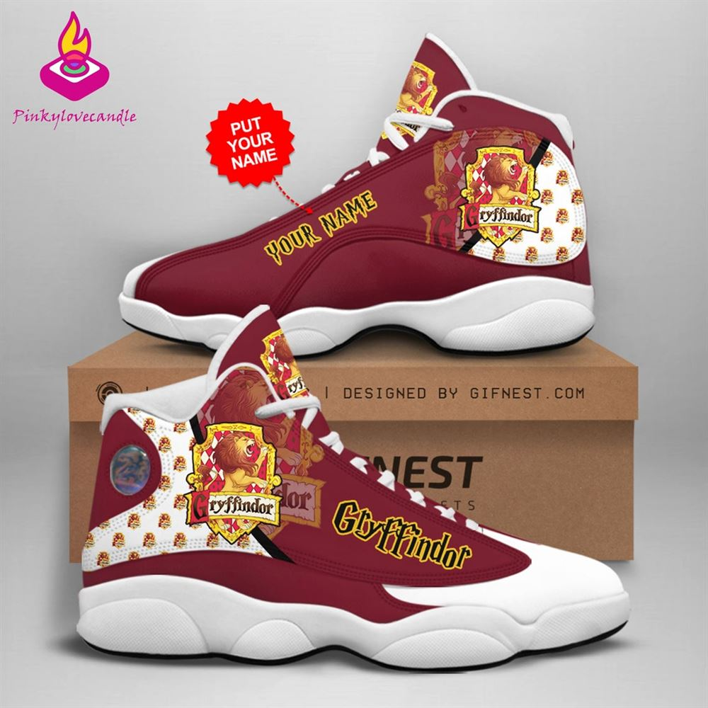 Harry Potter Air Jd13 Shoes Sneaker Gryffindor School Fan Gifts Personalized Shoes Gifts For Men Women Sneaker Men Women