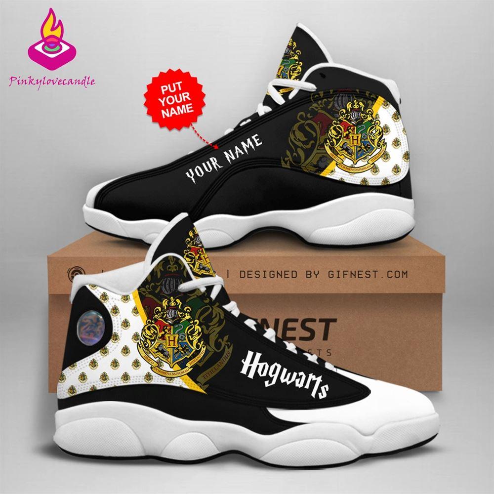 Harry Potter Air Jd13 Shoes Sneaker Hogwarts School Fan Gifts Personalized Shoes Gifts For Men Women Sneaker Men Women
