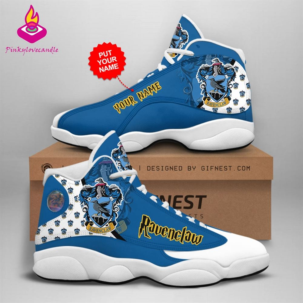 Harry Potter Air Jd13 Shoes Sneaker Ravenclaw School Fan Gifts Personalized Shoes Gifts For Men Women Sneaker Men Women