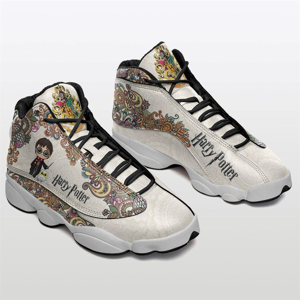 Harry Potter Chibi Movie Air Jordan 13 Jd13 Shoes Birthday Unisex Gift Idea For Fans Him Her Son Boyfriend Girlfriend