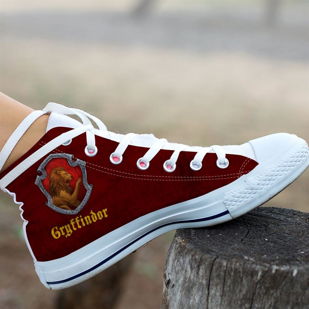 Gryffindor Hightop Harry Potter Movie Shoes Hogwarts Running Shoes Slytherin Unisex Casual Shoes Ravenclaw Shoes Hufflepuff