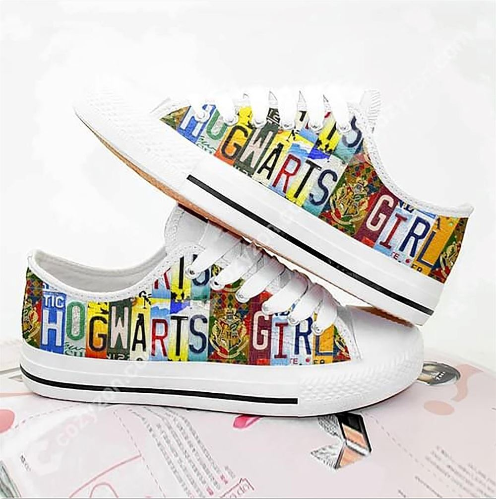 Harry Magical Wizard Potter Low Top Shoes For Men And Women Low Top Shoes Wizard Magic Shoes 2