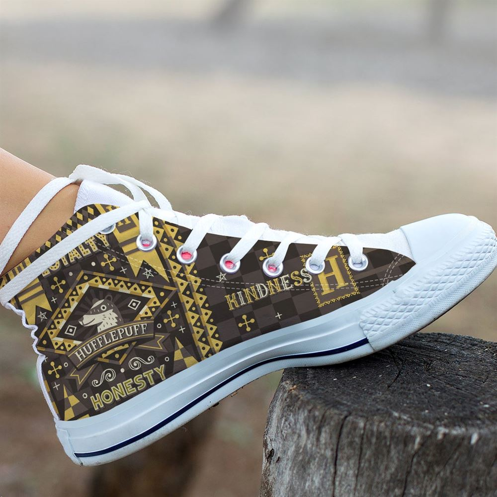 Harry Potter High Top Harry Potter Custom High Top Movie Shoes Hogwarts High Top Celebrity Shoes Gift Shoes Gift High Top 2