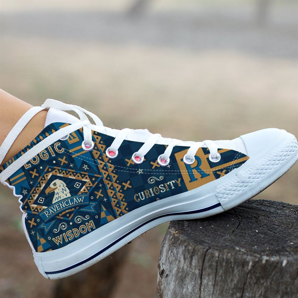 Harry Potter High Top Harry Potter Custom High Top Movie Shoes Hogwarts High Top Celebrity Shoes Gift Shoes Gift High Top