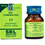 Medicines Mall - SBL Bio Combination 17 (25 GM) Biocombination / BC Tablets