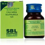 Medicines Mall - SBL Calcarea Sulphurica (12X) (25 GM) Biochemic / BC Tablets