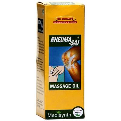 Medicines Mall - Medisynth Rheuma Saj (60 ML) Massage Oil