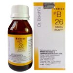 Medicines Mall - Baksons / Sunny  B26 / B 26 Injury (30 ML) Drops