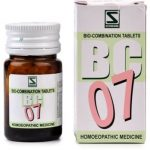 Medicines Mall - Willmar Schwabe India Bio Combination 7 (20 GM) Biocombination / BC Tablets