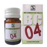 Medicines Mall - Willmar Schwabe India Bio Combination 4 (20 GM) Biocombination / BC Tablets