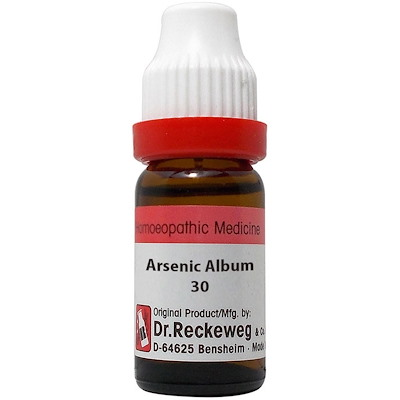 Medicines Mall - RW / Dr Reckeweg Arsenicum Album (30CH) (11 ML) Dilutions