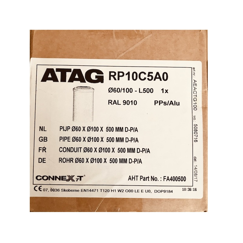 Atag RP10C5A0 60/100 500mm Flue Extension