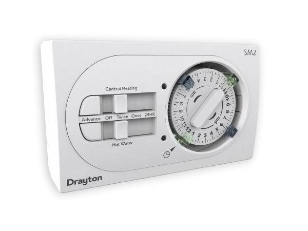 Drayton SM2 24 Hour Mechanical Programmer 29206
