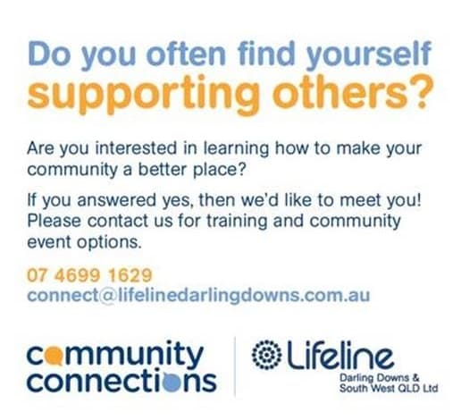 Lifeline Darling Downs | Community Connections Program