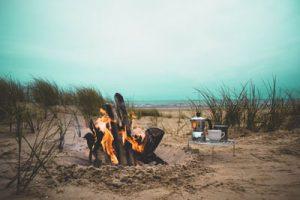 Campfire on Little Tybee