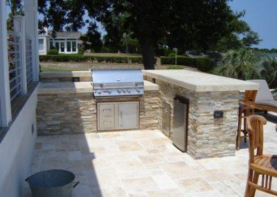 Sierra Shadow Stone-Travertine Counter top