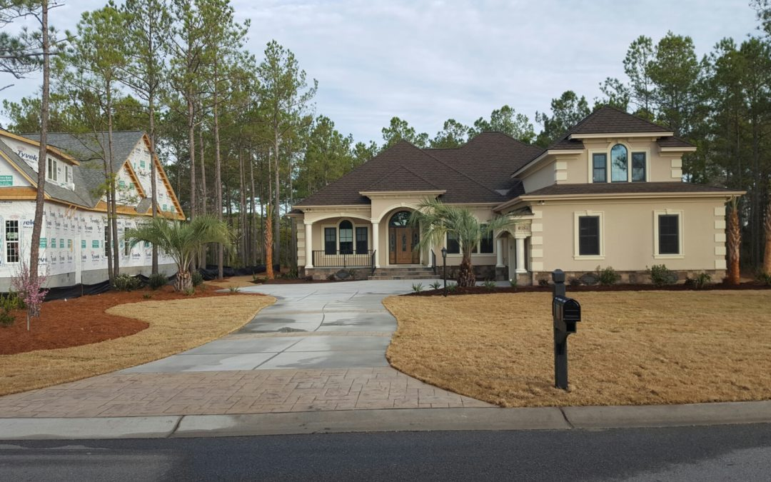 Ocean Ridge Custom Landscape- Carolina Bluewater Construction