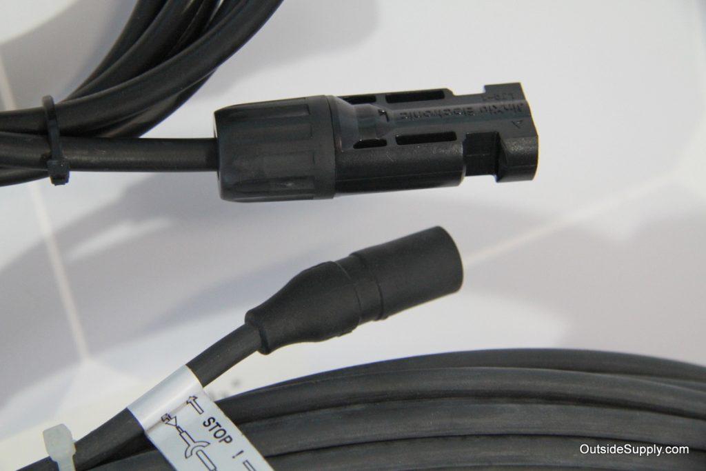 MC 3 and MC4 Solar connectors for RV Solar applications.