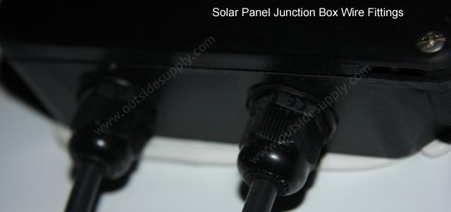 Solar Panel junction box