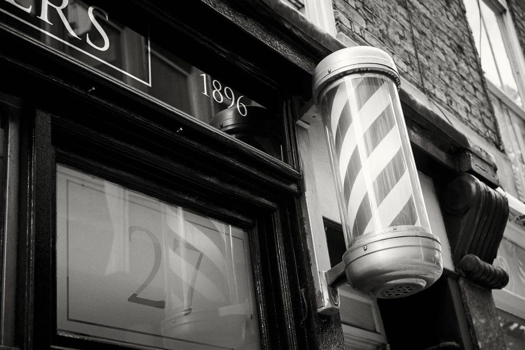 midtown barbers   history   Pall Mall Barbers History   Trafalgar