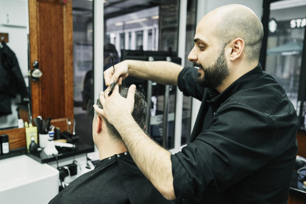 nearby barbers open now near Downtown NYC