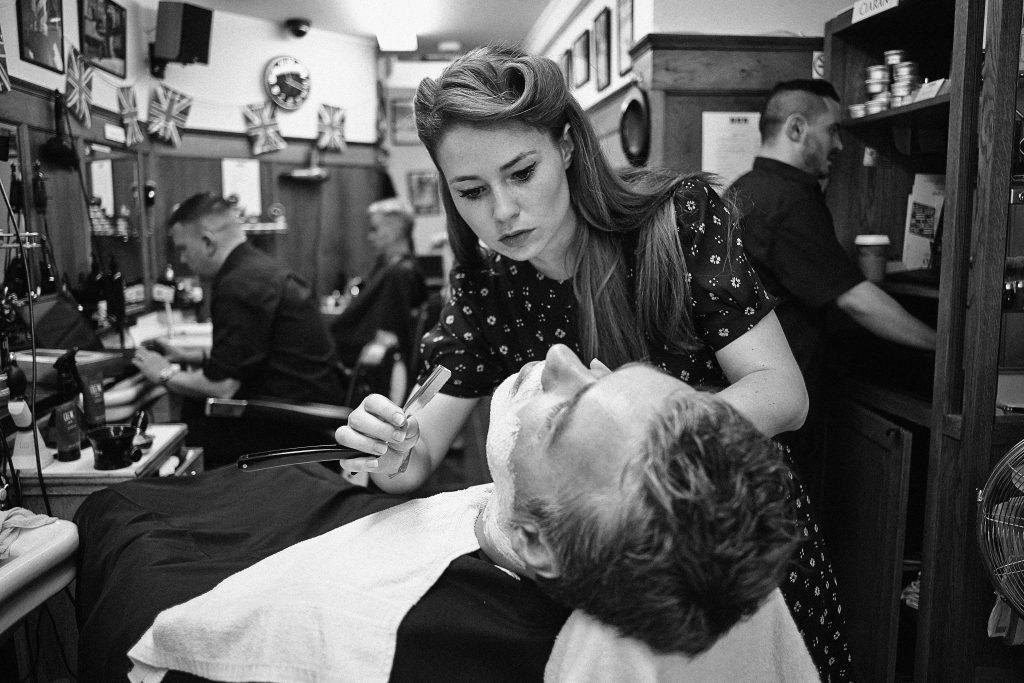 barbers of NYC history   Pall Mall Barbers History   Trafalgar