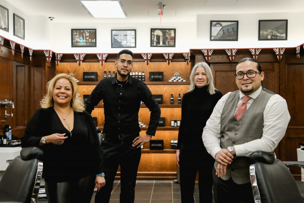 Best Barber Shop NYC, Pall Mall Barbers Midtown | Meet Claribel | Men's barbers NYC